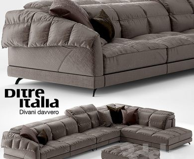 مبل مدرن ال شکل Sofa Dunn Soft Ditre Italia Design_media__slider