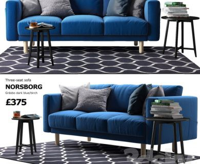 مبل مدرن با عسلی Sofa Ikea Norsborg_media__slider